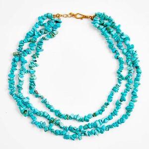 🌈2/$30 New Zara Turquoise Necklace